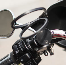 Discrete Motorcycle Cup Holder